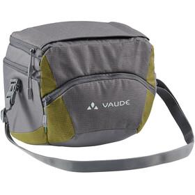VAUDE OnTour Box L Bag Klickfix ready, gris/vert